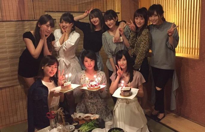 【NMB48】けいっち、ゆっぴの卒業、しおきちの結婚を祝う一期生会!みんなおめでとうやで。