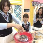 【渋谷凪咲/城恵理子/山尾梨奈】NMB48のやったんでぃチューズディ♯40キャプ画像。龍角散わた菓子wおしゃれな食べ方見つけましたよメーカーさんw