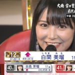 【NMB48】49thシングル選抜総選挙第12位・白間美瑠ランクイン!