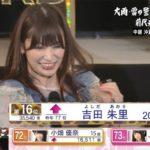 【NMB48】49thシングル選抜総選挙 16位吉田朱里キタ━━━━(゚∀゚)━━━━!!