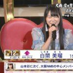 【白間美瑠/吉田朱里】みるるん、アカリン総選挙TOP16。AKB48 49thシングル選抜入り・壇上スピーチ全文。