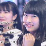 【NMB48】7/1 AKB48SHOW!キャプ画像。みるみる美術館と研究生「太陽が坂道を昇る頃」。なーみ最後のステージ。