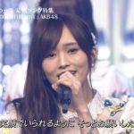 【山本彩/白間美瑠】さや姉みるるん出演、TBS・音楽の日 AKB48「365日の紙飛行機」キャプ画像。