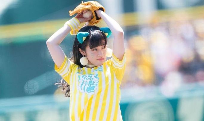 【矢倉楓子/川上千尋】ちっひーの始球式、メッセンジャー投手の顔マネは下柳さんのアドバイスだったw
