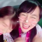 【谷川愛梨/山本彩加】あいり・あーやん、甲子園で激戦の末のサヨナラ勝ちを見どけるw2人とも喜び方が可愛いw