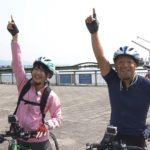 【村上文香】あやちゃん出演・ビワイチ!びわ湖1周自転車の旅キャプ画像。…びわこでイチバン可愛いガールかな?