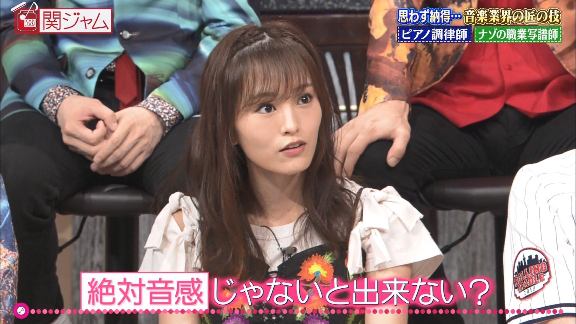 【山本彩】8月13日放送・さや姉出演「関ジャム完全燃SHOW」キャプ画像。