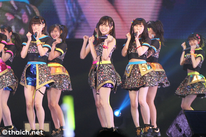 【NMB48】ASIA TOUR 2017 タイGMM LIVE HOUSEニュースとセットリストと画像。