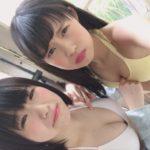 【NMB48】5期生のグラビアオフショットが続々と。ももるんのチラ見せ動画www