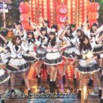 【NMB48】CDTVスペシャル!ハロウィン音楽祭2017「まさかシンガポール」キャプ画像。