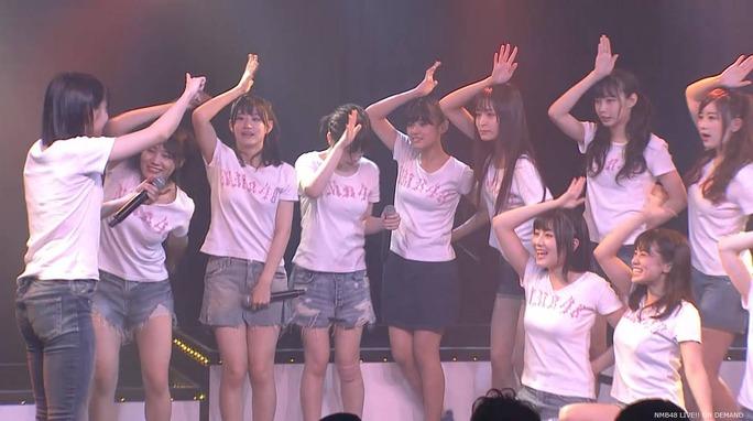【NMB48】チームBⅡ公演でイワシの大群がステージを占拠www