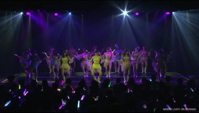 【NMB48】ワロタピーポー・チームMバージョンが劇場初披露。