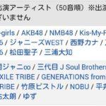 【NMB48】11月15日ベストヒット歌謡祭2017の出演は19時台の模様。