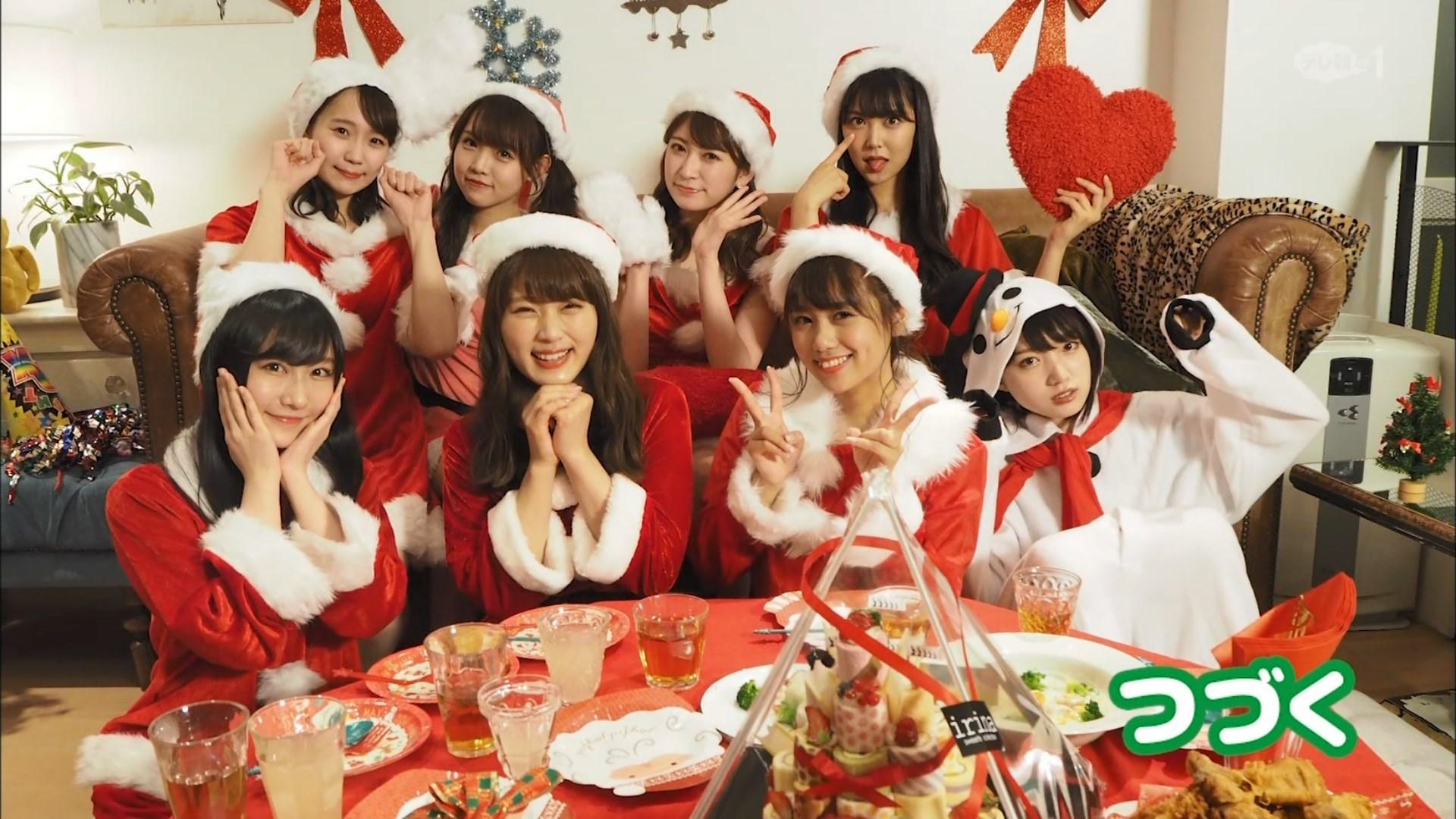 【NMB48】テレ朝1「NMB48のホームパーティー!!サンタ・コスでメリクリやねん2時間SP」キャプ画像