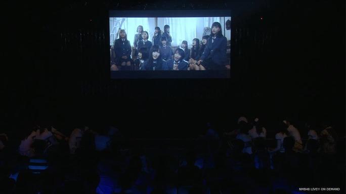 【NMB48】劇場でデデーンwチームBⅡ曲「普通の水」ミュージックビデオが初披露!YouTubeでも公開