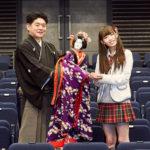 【石塚朱莉】あんちゅ・ぴあ連載「劇団 石塚朱莉」文楽人形遣いの吉田幸助さんが登場。面白い。