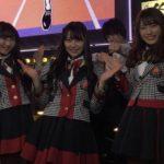 【白間美瑠/矢倉楓子/渋谷凪咲】昨日の劇場前・道頓堀ワロタピーポーが12月28日の「音力」で放送されるようです。