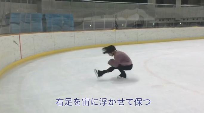 【川上千尋】ちっひーのフィギュアスケート講座Lesson3・シットスピンが公開。