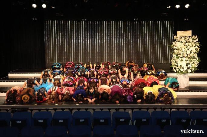 【NMB48】恒例・新春特別公演後の集合写真が次々投稿される。