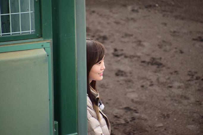 【山本彩】さや姉が鳴尾浜球場で目撃される。虎バンっぽいですね。