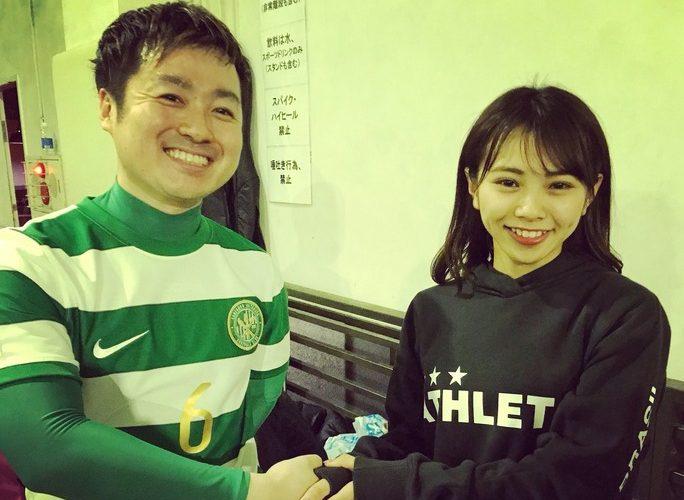 【磯佳奈江】いそちゃんフットサルチーム「サンフォンド世田谷」に電撃加入!