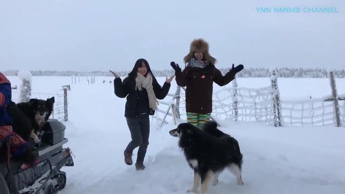 【矢倉楓子/古賀成美】フィンランドでワロタピーポーw犬が懐きすぎてるwww
