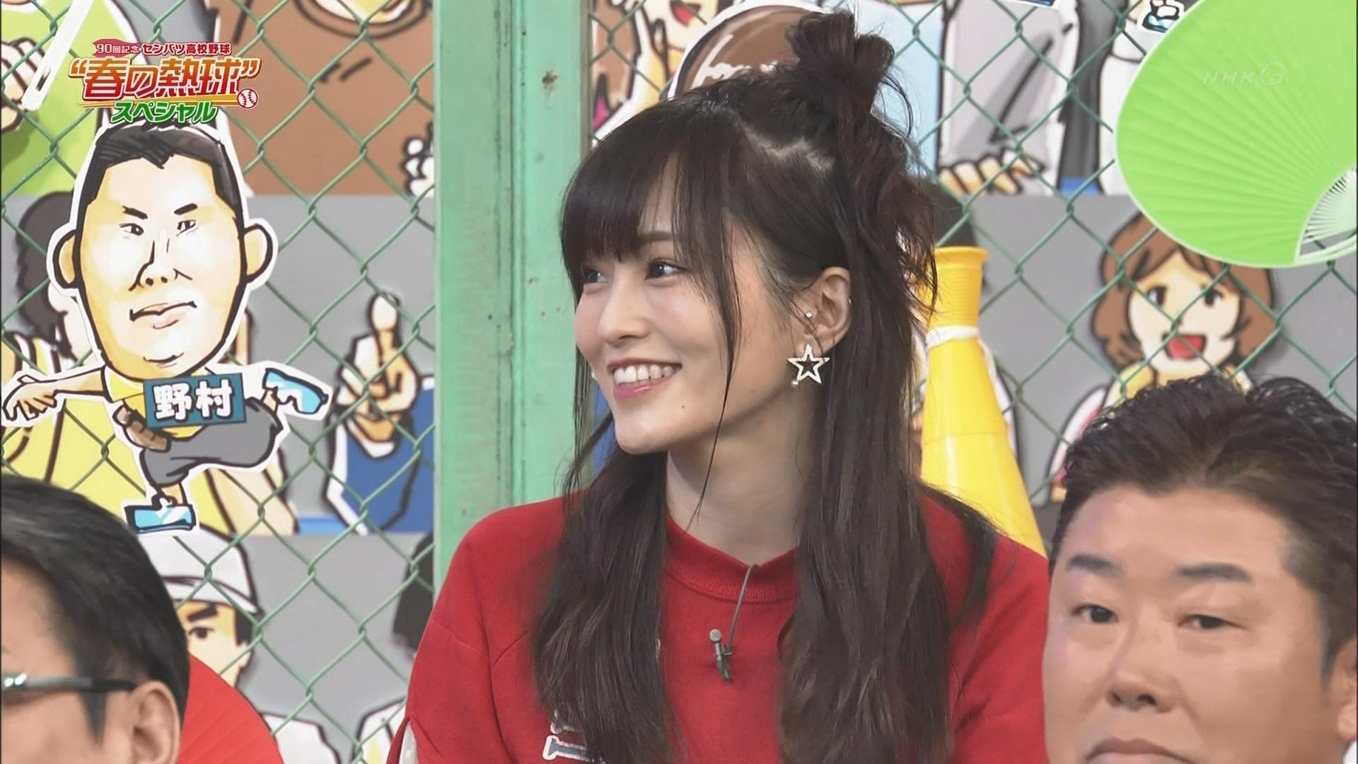 【山本彩】さや姉出演、90回記念センバツ春の熱球スペシャルキャプ画像