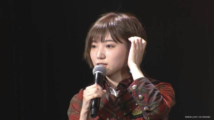 【太田夢莉】ゆーり公演復帰。挨拶で「今日からまた頑張りたいと思いますのでよろしくお願いします」