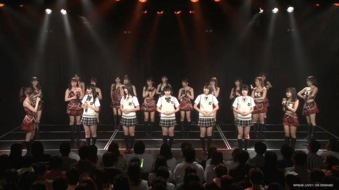 【NMB48】チームNドラフト3期生メンバーが劇場に登場。