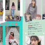 【梅山恋和】ココナのGGS2018年4月号前編が公開。パンツ派VSスカート派。