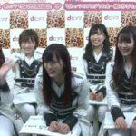 【NMB48】18thシングル欲望者発売記念Twitter生配信キャプ画像。