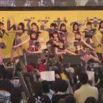 【NMB48】第10回沖縄国際映画祭KawaiianTV Presentsスペシャルステージキャプ画像。