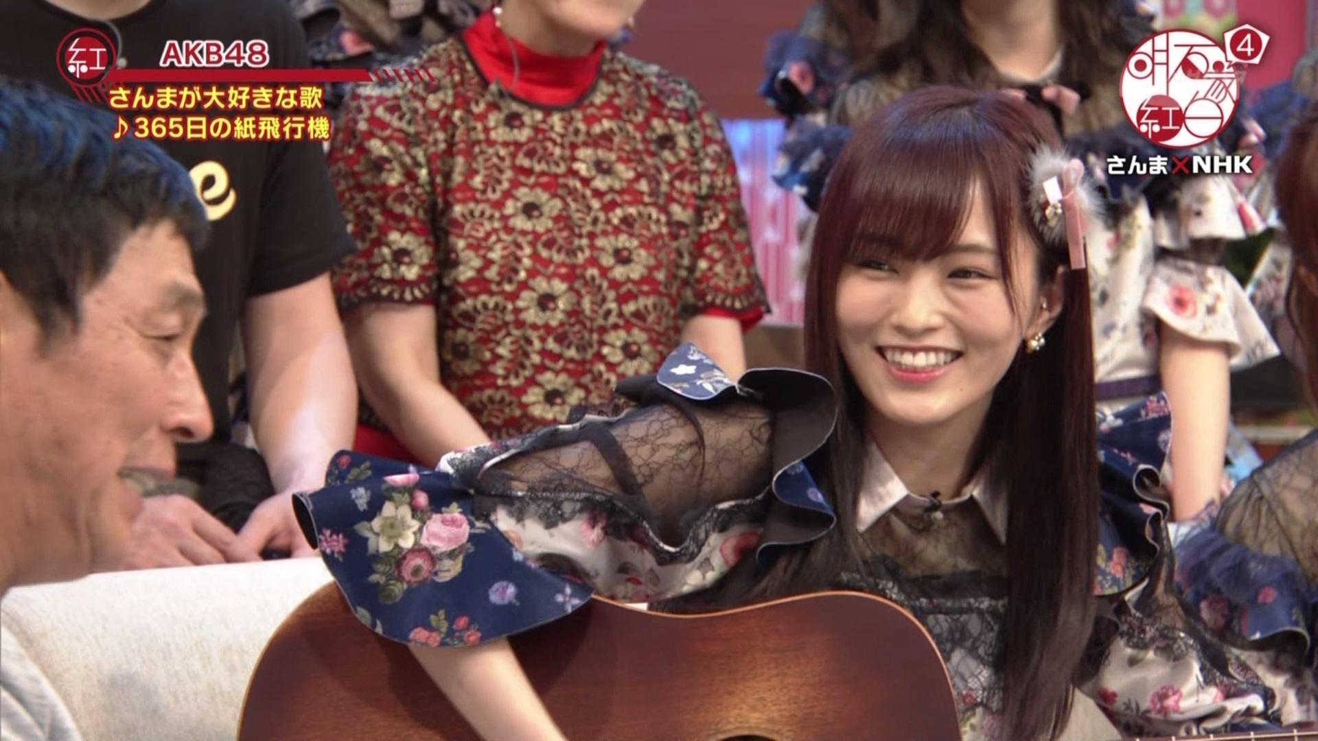 【山本彩】4月30日放送さや姉出演・第4回 明石家紅白キャプ画像。