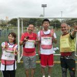 【磯佳奈江】沖縄国際映画祭、いそちゃん参加のサッカー教室の様子。