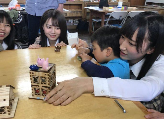 【西澤瑠莉奈/山尾梨奈】るりりん・やまりな参加、第68回誰かのためにプロジェクトジオラマ製作会の様子など。