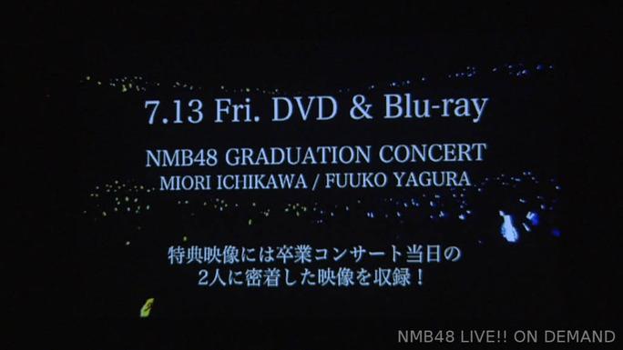 【NMB48】ふぅちゃんとみおりんの卒業コンサートDVD&Blue-rayが7月13日発売決定。