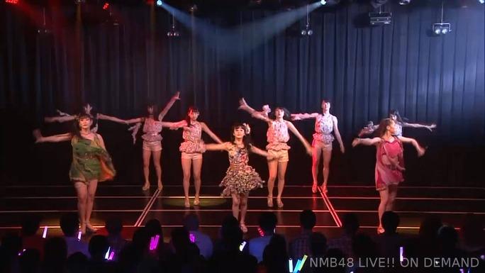 【NMB48】チームM・アイドルの夜明け公演、バックダンサー復活。