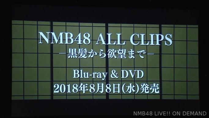 【NMB48】8周年記念MV集 NMB48 ALL CLIPS-黒髪から欲望まで-発売決定。投票企画も開催。