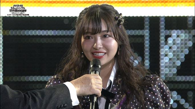 【NMB48】AKB48 53rdシングル世界選抜総選挙100位〜81位。れーちゃん、さえぴぃ、うーかがランクイン。