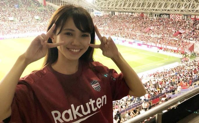 【磯佳奈江】いそちゃん、取材でノエスタへ。イニエスタ選手のJリーグデビューを現地観戦。