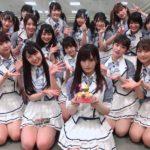 【山本彩】音楽の日本番終了後メンバーで誕生日お祝い。おめでとうございまーす!