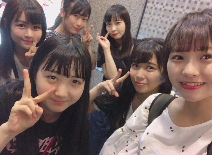 【NMB48】ドラフト2期生大集合。ゆず・ももね・しおん・えーりん・ゆきちゃん・なーみ、ゆいちゃんはテレビ電話で参加。