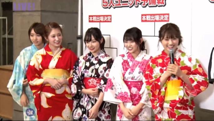 【NMB48】ユニットじゃんけん大会5人枠予備戦、「Queentet」「nyamm」が登場も敗退。