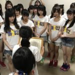 【NMB48】ツアー仙台公演、メンバーに被災地の子供達から感謝状が送られる。