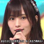 【山本彩/吉田朱里】さや姉・アカリン出演ウルトラFES2018「恋するフォーチューンクッキー」キャプ画像。