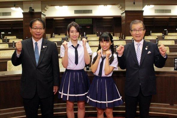 【NMB48】10月7日14時54分〜関西テレビで「NMBの教えて!大阪府議会」が放送開始。