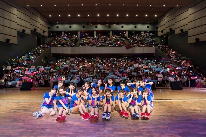 【NMB48】10月5日NMB48アジアツアー2018・広州公演、現地の画像など。
