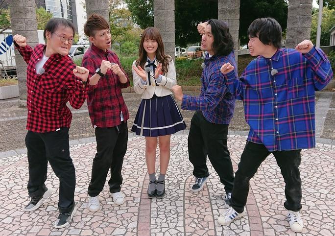 【渋谷凪咲】なぎさが11月12日放送「俺たちのストリートファイト」の収録に参加。