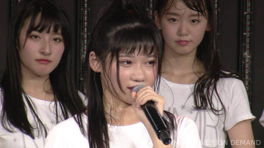【NMB48】菖蒲まりん生誕祭まとめ・19歳もかっ飛ばして行きます【手紙・コメント全文有】