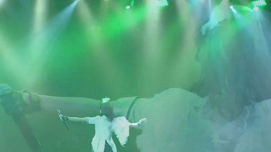 【山田寿々】NMB48劇場 SPECIAL WEEK 単独十番勝負 第二弾・其之二 第二部「 #たんすずセンターへの道 」キャプ画像。